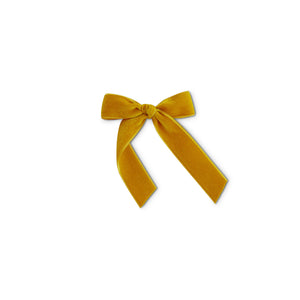 Golden Girl - Velvet Cheer Bow