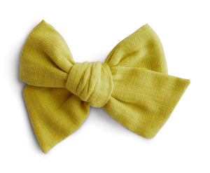 Starfruit Double Gauze - Big Mess Bow