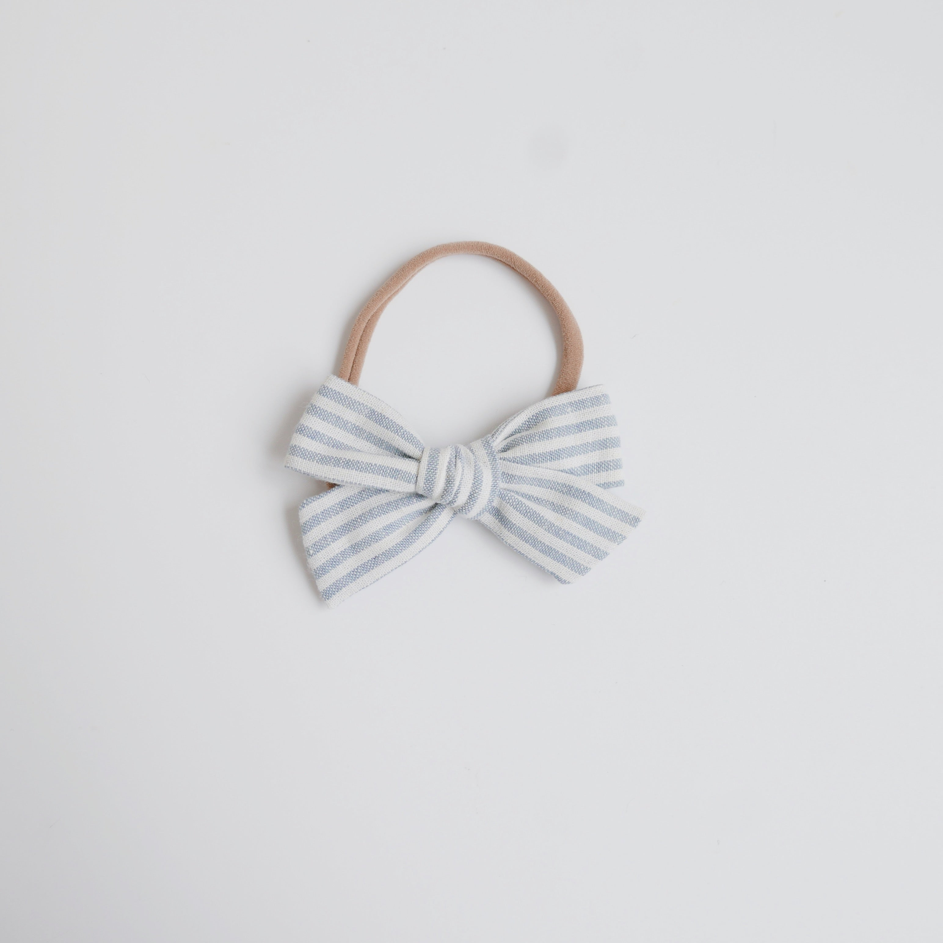 Harbor Stripe Linen - Little Mess Bow