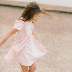 Blush Lulu Ruffle Dress