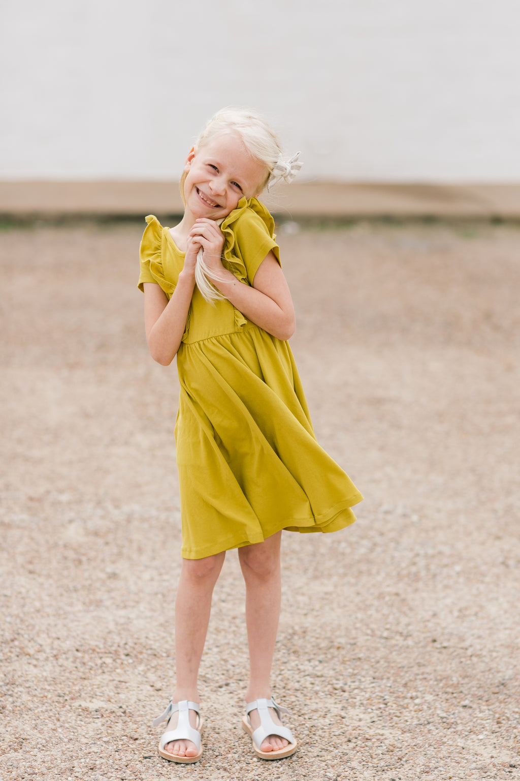 Starfruit Lulu Ruffle Dress