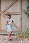 Moonlight Stripe - Everyday Dress