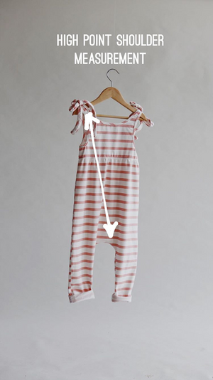 Moonlight Stripe - Hadley Romper