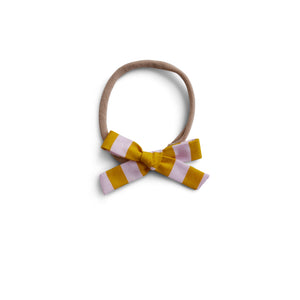 Boardwalk Stripe - Cotton Schoolgirl Bow