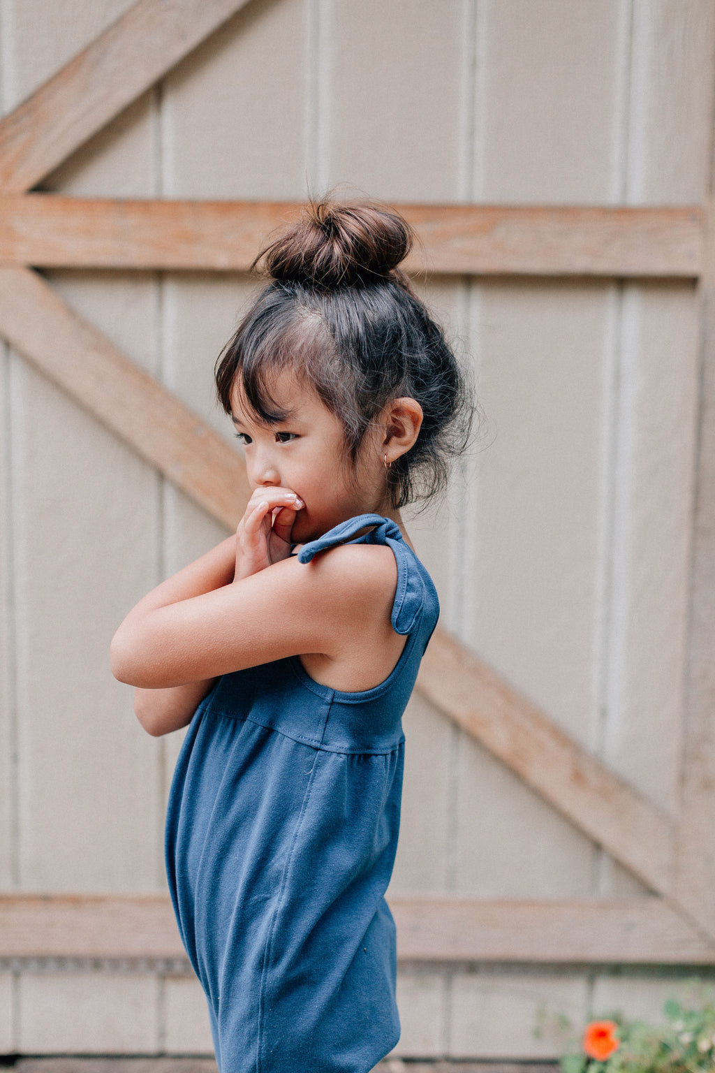 Sailor Blue - Hadley Romper