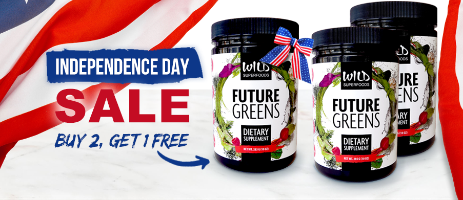 Independence Day Special: Buy 2 Future Greens, Get 1 FREE