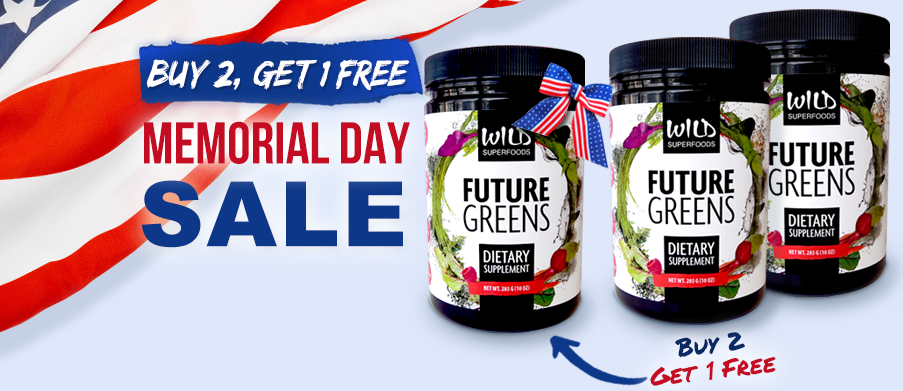 Memorial Day Special: Buy 2 Future Greens, Get 1 FREE