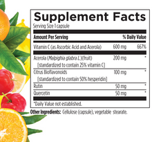 Wild Superfoods: 6-Pack of Vitamin C Stack with Acerola Cherry & Citrus Bioflavonoids
