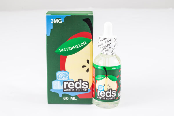 Reds Watermelon Apple Iced eJuice by 7 Daze
