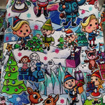 FF R68 DESTASH - REINDEER GAMES 2.0 MAIN FABRIC