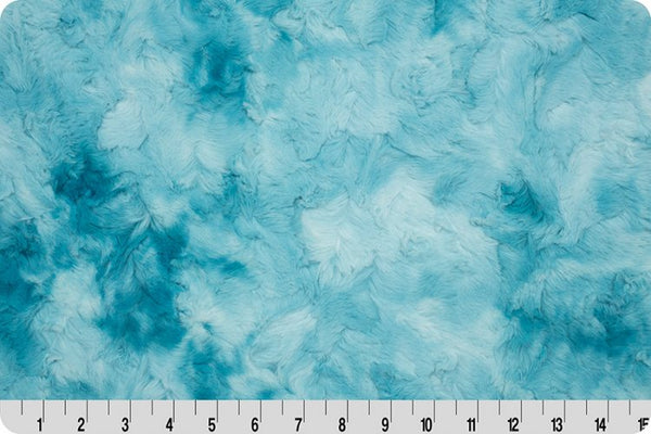 In Stock Essentials: MINKY -  Luxe Cuddle® Galaxy Aqua Sea