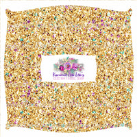 Endless Essentials Pre-Order: Kammieland Glitters - Traditional Bejeweled Gold KF