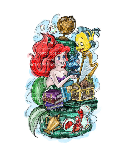 Under the Sea Custom Art Print