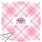 IN STOCK BASICS:  GINGHAM BLISS - COTTON CANDY PINK BIAS