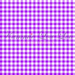 IN STOCK BASICS: GINGHAM BRIGHT - Purple