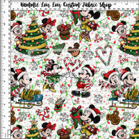 Tumbler Cuts: A Mouse Carol - Toss - White - REGULAR