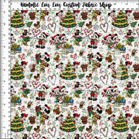 Tumbler Cuts: A Mouse Carol - Toss - White - TINY