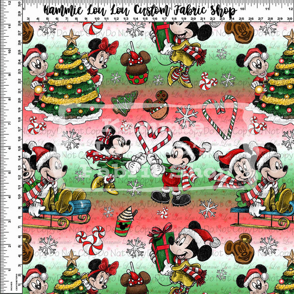 Tumbler Cuts: A Mouse Carol - Toss - Ombre - REGULAR