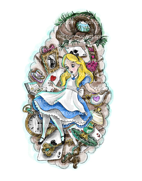 Rabbit Hole Custom Art Print