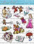 Happily Ever After - Adhesive Sticker Sheet