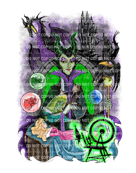 Evil Queen Custom Art Print