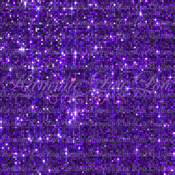 Always Available IN STOCK: GLITZ COLLECTION: Purple