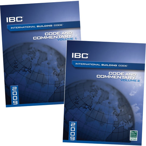 2009 International Building Code® and Commentary Combo