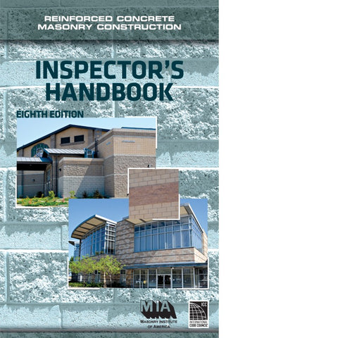 Reinforced Concrete Masonry Construction Inspector's Handbook, 8th Edition