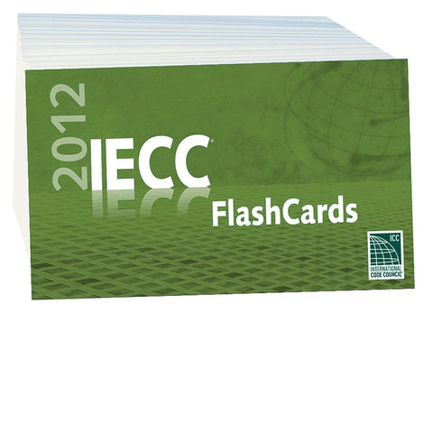 2012 IECC Flash Cards