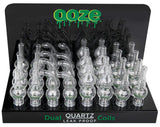 Ooze Dual Quartz Globes - Assorted