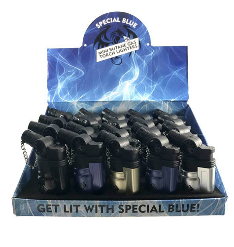 Special Blue Mini Torch Lighter