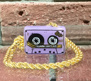Slum Gold Slummin Aint Easy Pendy w/gold chain