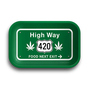"High Way 420 Rolling Tray - 11.25""x7.25"""