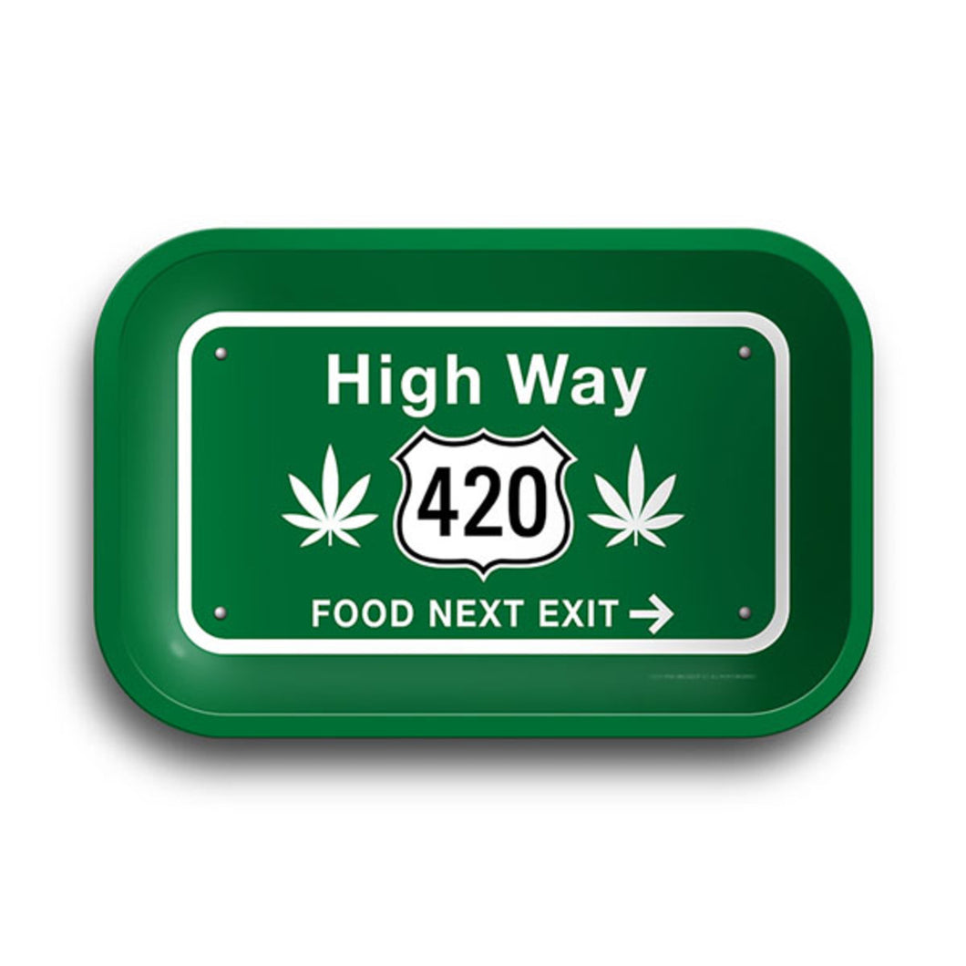 High Way 420 Rolling Tray - 11.25