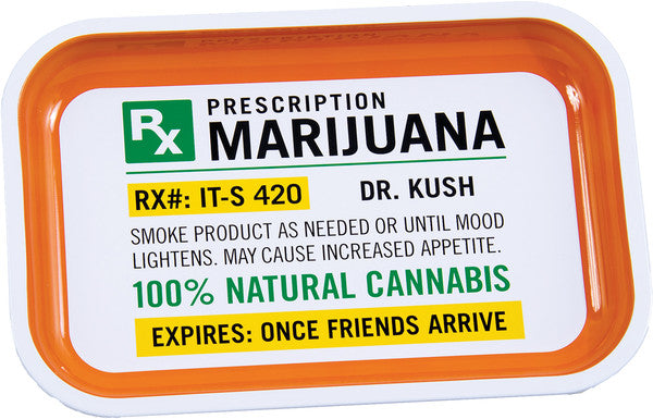 Prescription Rolling Tray - Small