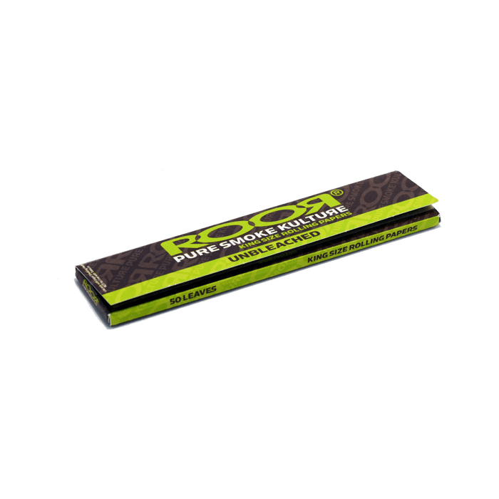 ROOR King Size Rolling Papers Unbleached