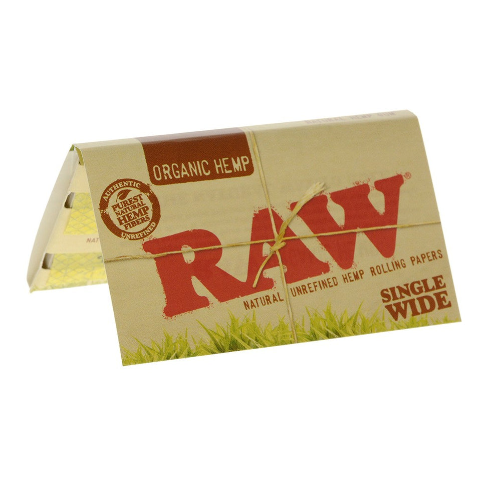 Raw Organic Single Wide 1.0