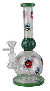 "Rich and Shorty Waterpipe - 8.5"" / 14mm Female"