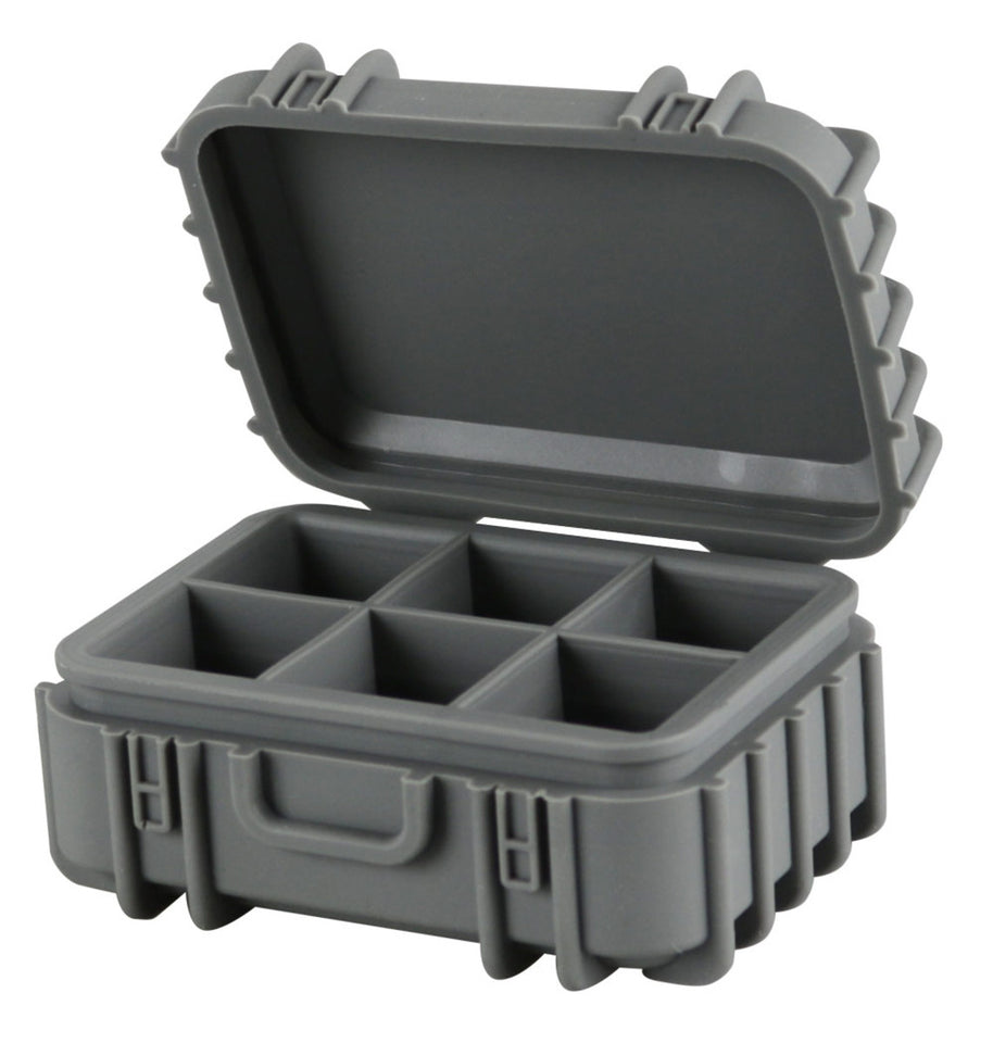 STR8 Case - 6 Chamber Silicone Container - Assorted