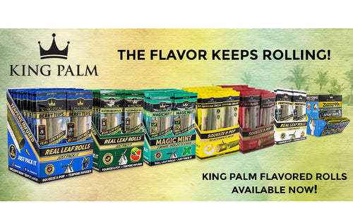 King Palm 2pk Flavoured Slim Rolls