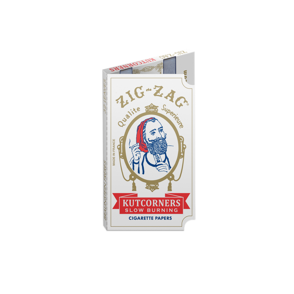 Zig Zag Cut Corner Rolling Papers