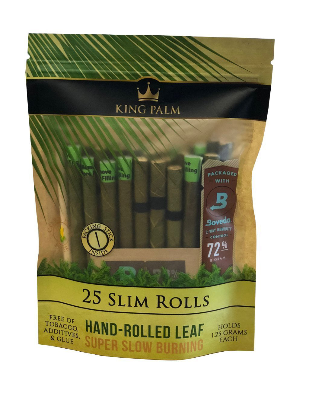 King Palm 25 Pack Slim Rolls