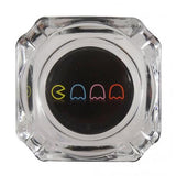 Decal Glass Ashtray - PacMan
