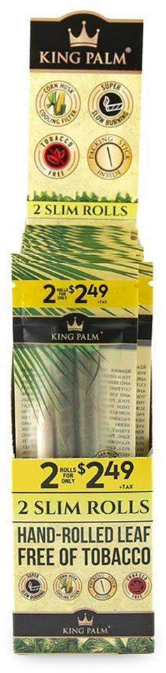 King Palm - 2 Slim Rolls