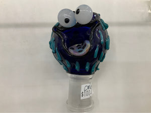 Cookie Monster 18mm Dome