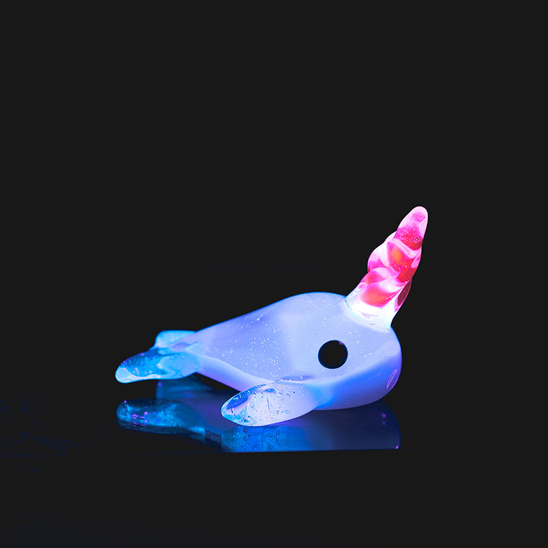 Glass Dabber - Cozmic Narwhal By Empire Glassworks