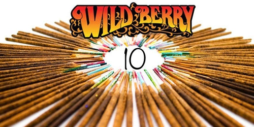 Wildberry Incense 10 Sticks