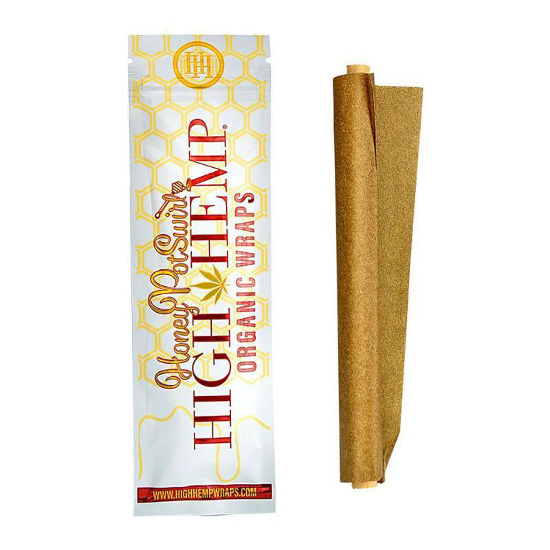 High Hemp Wrap - Honey Pot Swirl