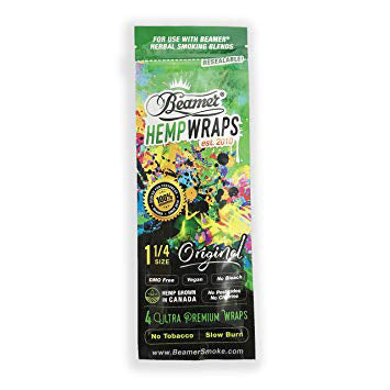 Beamer Vegan Hemp Wrap Original Non GMO