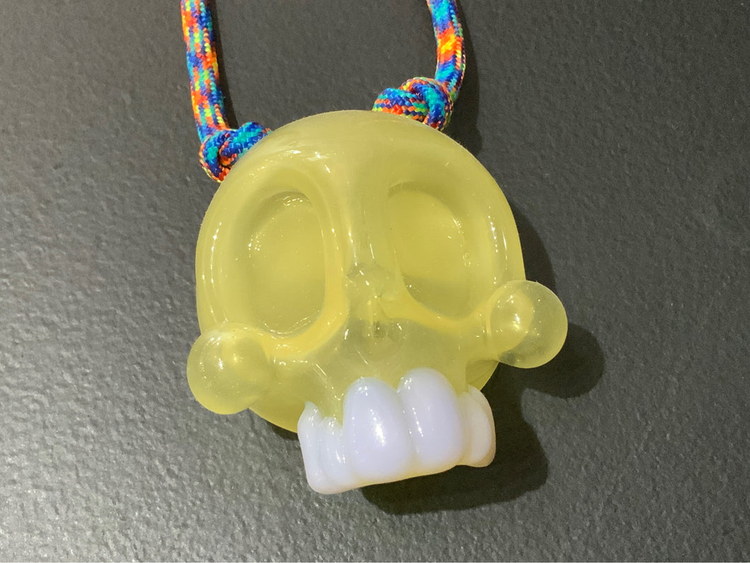 Annealed Innovations Skull Pendant